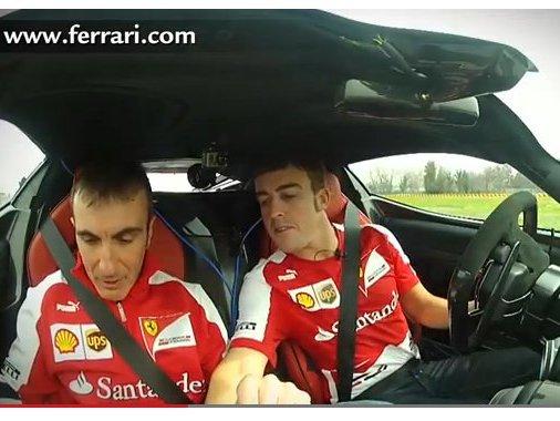 [vidéo] Fernando Alonso et LaFerrari : 2 tours tranquilles ...