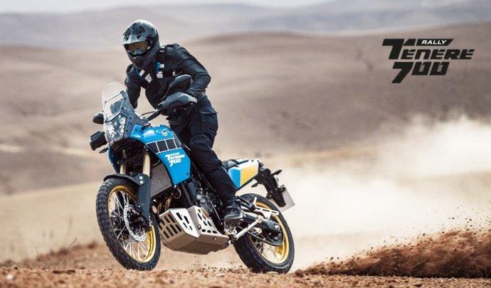 Une Yamaha Ténéré 700 aux airs de Dakar