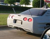 La Corvette C7 débusquée: une belle rosette