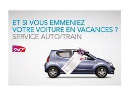 SNCF ouvre les réservations du service Auto-Train pour cet été