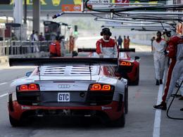 Une coupe Audi R8 LMS en Chine