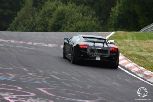 Spyshot : Lamborghini LP 560-4 Superleggera ?