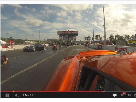 [vidéo] Ferrari 458 Italia vs McLaren MP4-12C : aïe 3 fois