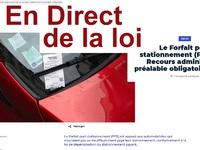 En direct de la loi: qui peut se garer sur les places de livraison?