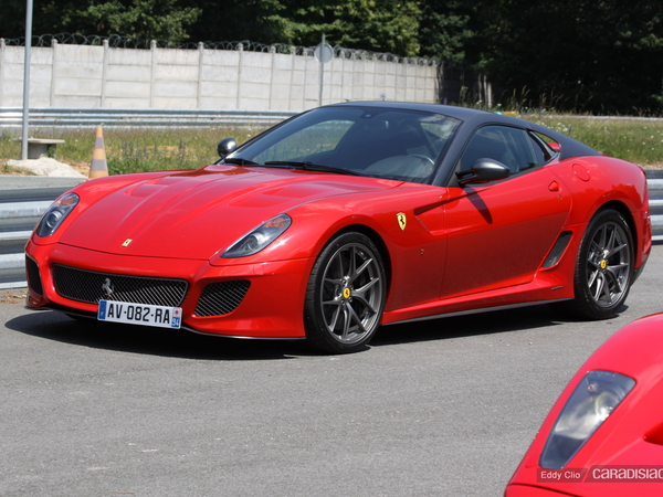 Photos du jour : Ferrari 599 GTO