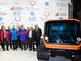 Un programme de mobilité propre en Antarctique confié à Venturi
