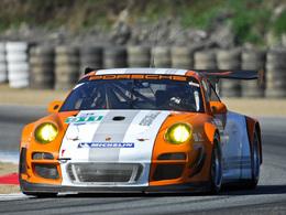 La Porsche 911 GT3 R Hybrid de nouveau en piste en 2012