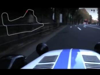 [Vidéo] La Route 246 de Tokyo dans Gran Turismo 5 en vrai, avec une Caterham R300 Superlight