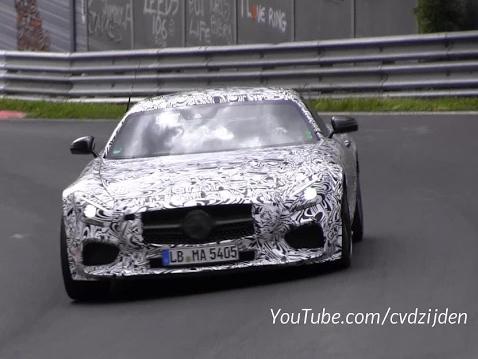 Surprise en vidéo : est-ce la Mercedes AMG GT Black Series ?