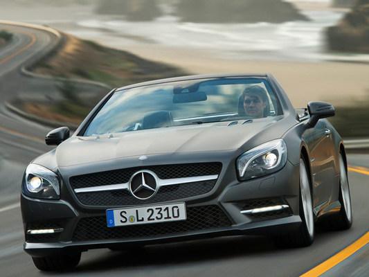 La nouvelle Mercedes SL en détail