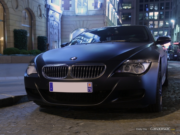 Photos du jour : BMW M6