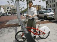 A Washington, des vélos en libre service dès mi-mai 2008