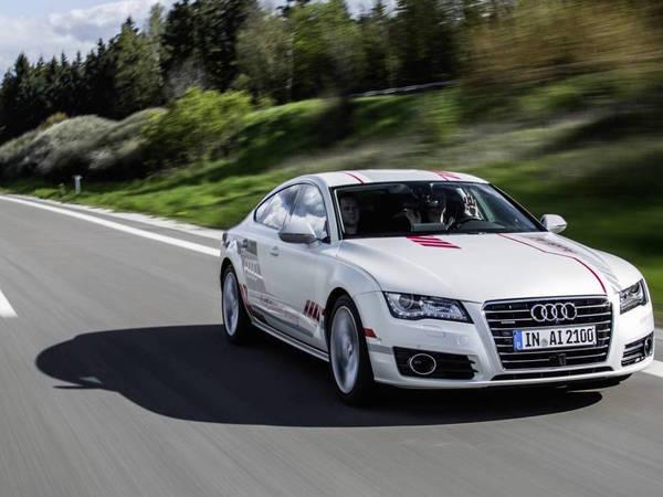 """Audi dévoile """"Jack"""", l'A7 autonome sur autoroute"""