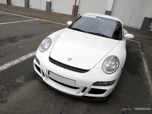 Photos du jour : Porsche 911 997 GT3 (Tinseau Test Day)
