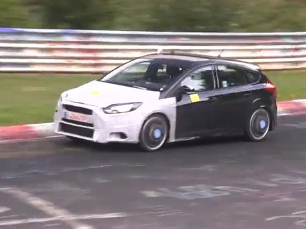Surprise en vidéo : la future Ford Focus RS à l'attaque de la boucle nord
