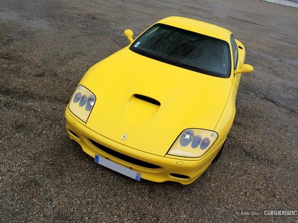 Photos du jour : Ferrari 575 Maranello (Cars & Coffee Paris)
