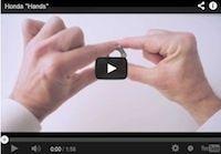 """Honda """"Hands"""": l'univers ailé au bout des doigts (vidéo)"""