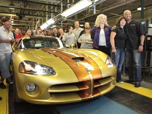 Prochaine Dodge Viper : elle ne sera pas une Alfa 8C rebadgée
