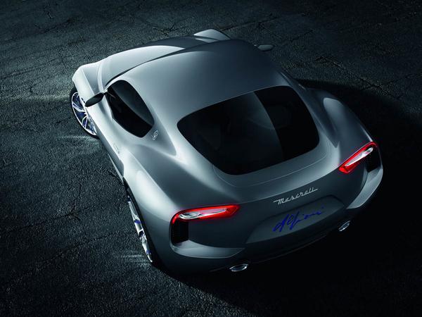 Future Maserati Alfieri: également en cabriolet et jusqu'à 520 ch