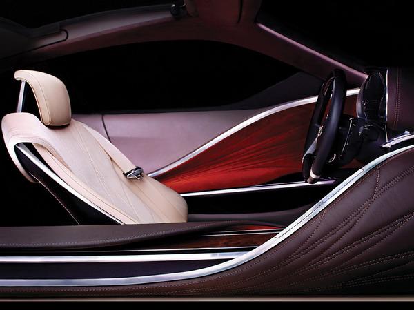 Détroit 2012 : l'habitacle du concept Lexus