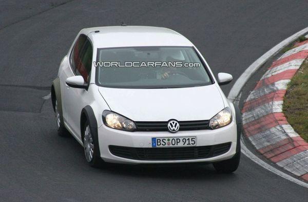 Spyshot : la Volkswagen Golf VII existe déjà