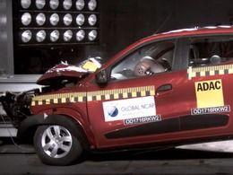 Renault Kwid : aucuneétoile pour les adultesau crash-test Global NCAP