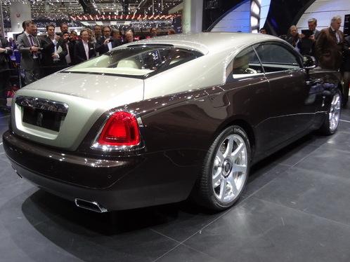 Rolls-Royce : une Wraith cabriolet et un crossover pour la suite ?