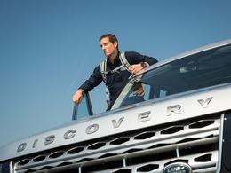 Land Rover signe un contrat avec Bear Grylls