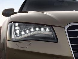 """Les LEDs Audi certifiées """"écolo"""" par l'Europe"""