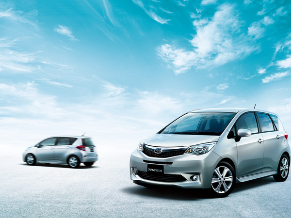 Nouveau Trezia, le Toyota Verso-S de Subaru