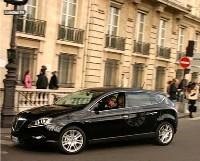 La Lancia Delta dans Paris