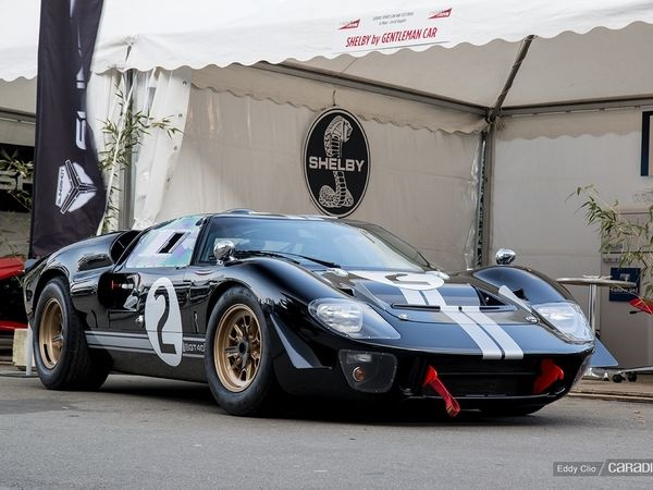 Photos du jour : Caroll Shelby GT40 MKII (Exclusive Drive)