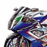 Superbike: BMW prépare une K 1000 RS.