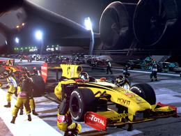 (Minuit chicanes) Une course de F1 sur la Lune...