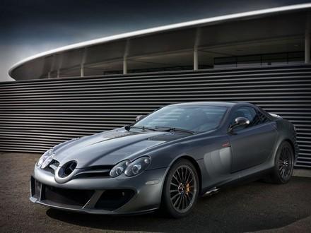 L'étonnante Mercedes McLaren SLR Edition