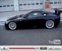La fureur et le cri 2eme : la Lexus LF-A