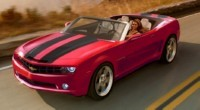 Chevrolet Camaro Cabriolet Concept à Detroit !