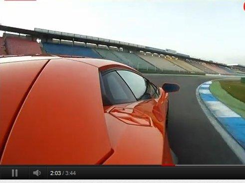 [vidéo] Embarquez pour un 370 km/h en Lamborghini Aventador
