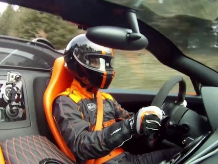 (Vidéo) 408,84 km/h en Bugatti Veyron Grand Sport Vitesse