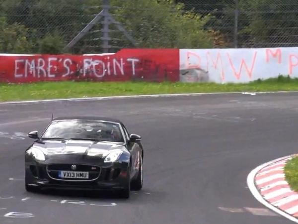 Surprise : une Jaguar F-Type à boîte manuelle ?