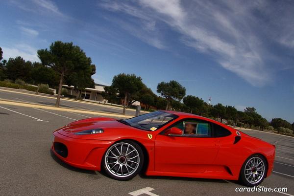 Photos du jour : Ferrari 430 Challenge Street