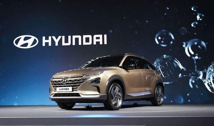 Hyundai dévoile le descendant de l'ix35 Fuel Cell