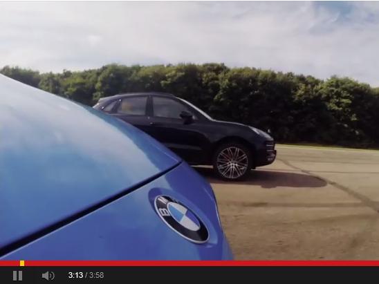 Drag Battle EVO : Porsche Macan Turbo vs BMW M3