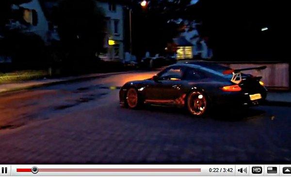 [vidéo] : shakedown d'avant salon à 292 km/h en Porsche 911 GT3 RS