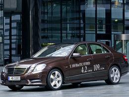 La prochaine Mercedes Classe E hybride