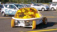 La Zooop de Coqueline Courrèges, une voiture électrique rapide