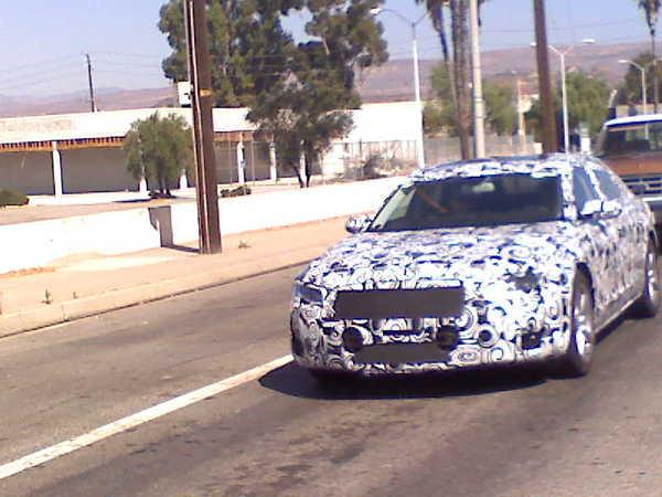 Spyshot : Audi A6 ou A8 ?