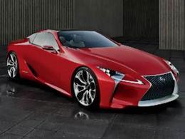 Salon de Détroit - 1ères images du concept Lexus LF-Lc
