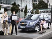 Chevrolet Orlando : 7 places à prix tirés