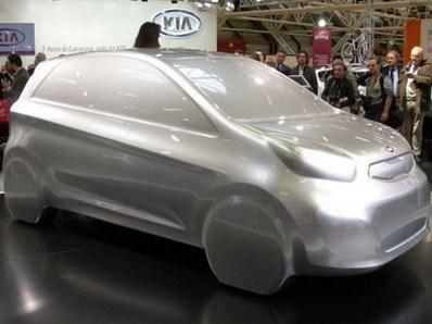Future Kia Picanto : une première sculpturale !